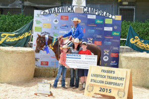 Kneipps Conray Winner Warwick Stallion draft
