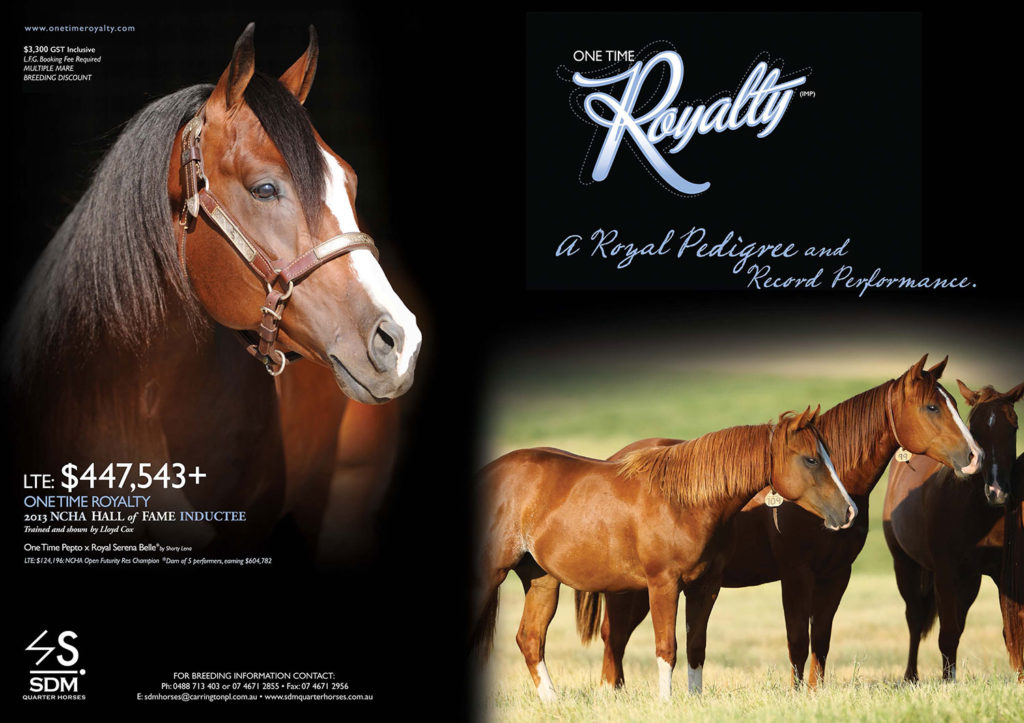 One Time Royalty ad.